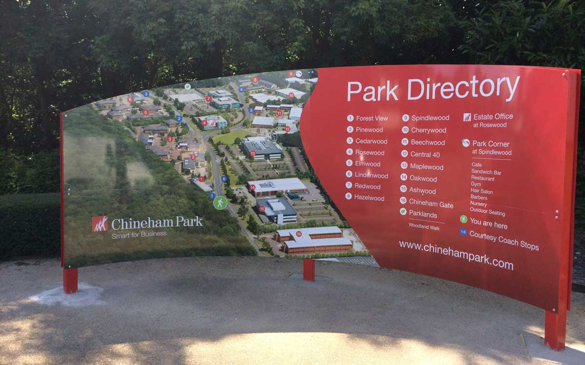 Chineham Business Park – Signage Refresh